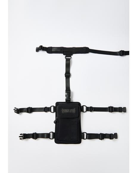 Snare Leg Garter Utility Belt Bag