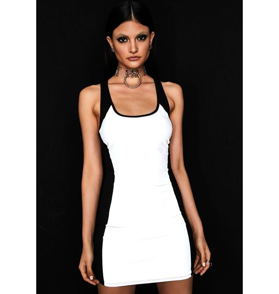 Liquid Luster Reflective Dress