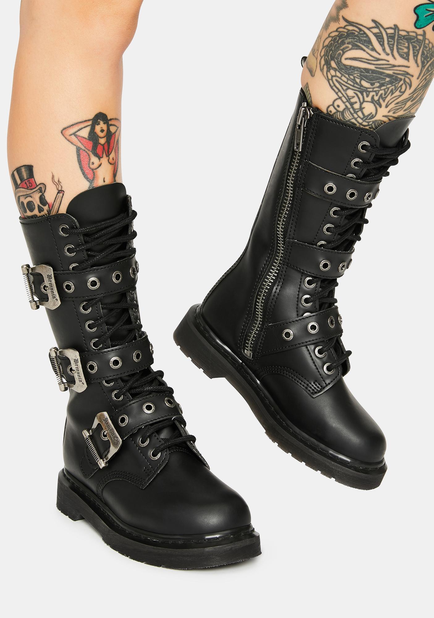 Demonia Bolt Combat Boots
