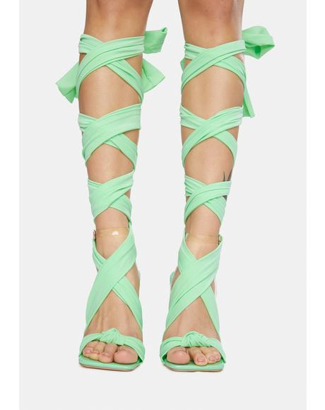 Envy Pls Don't Go Wrap Heels