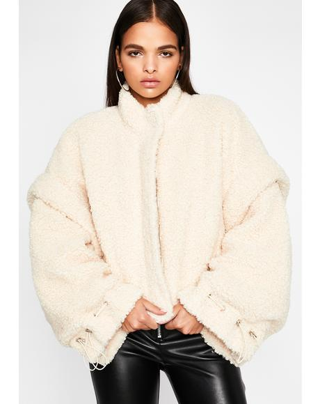 Caviar Dreams Teddy Coat