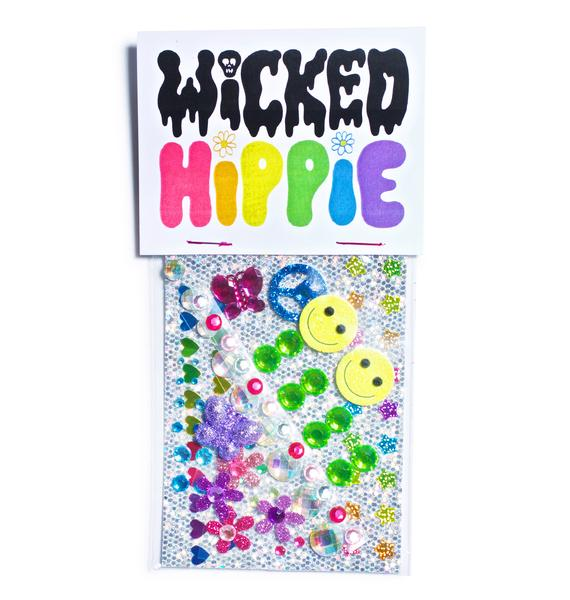 Wicked Hippie PLUR Face Jewelz