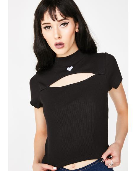Cut Out Heart Tee