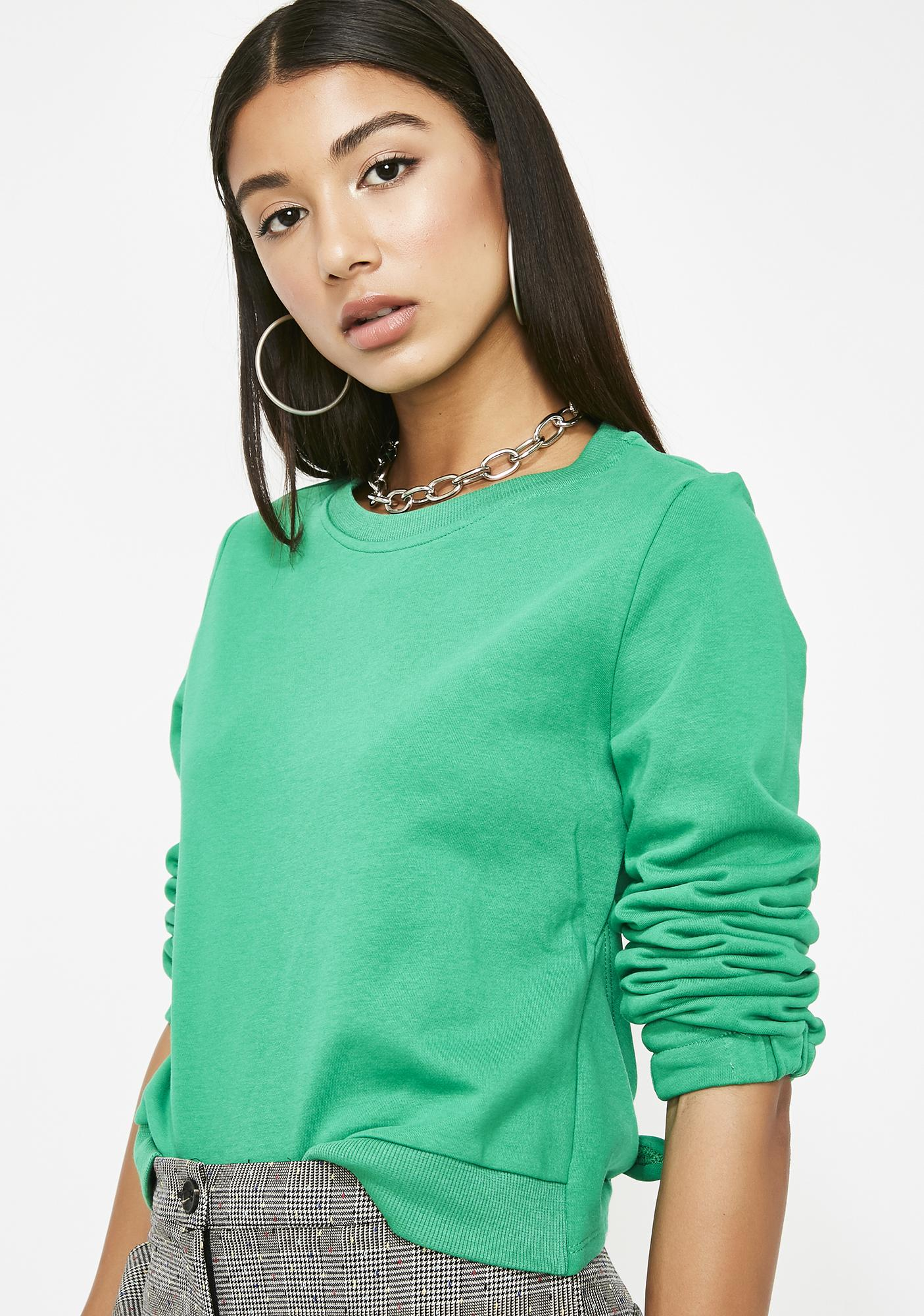 Never Look Back Knit Sweater