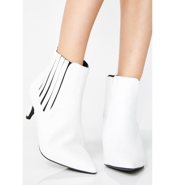 Icy Watch Me Leave Booties