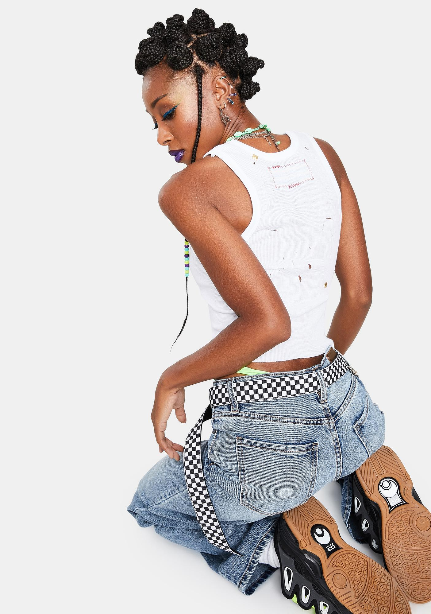 Marsanne Brands Cropped New York Tank Top
