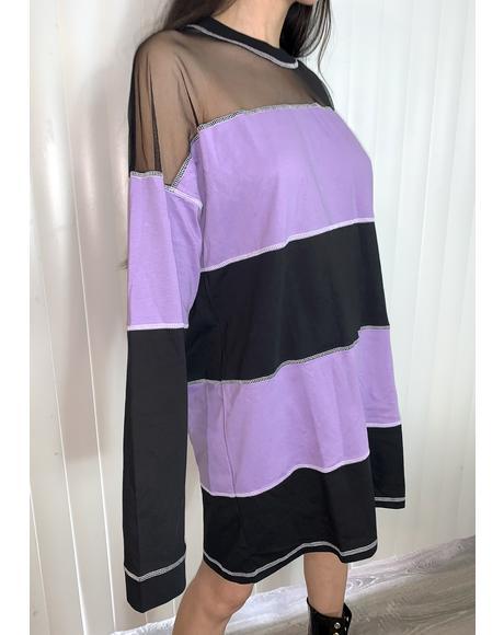 Project Long Sleeve Shirt Dress