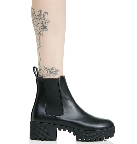 Public Desire Cassie Cleated Chelsea Boots
