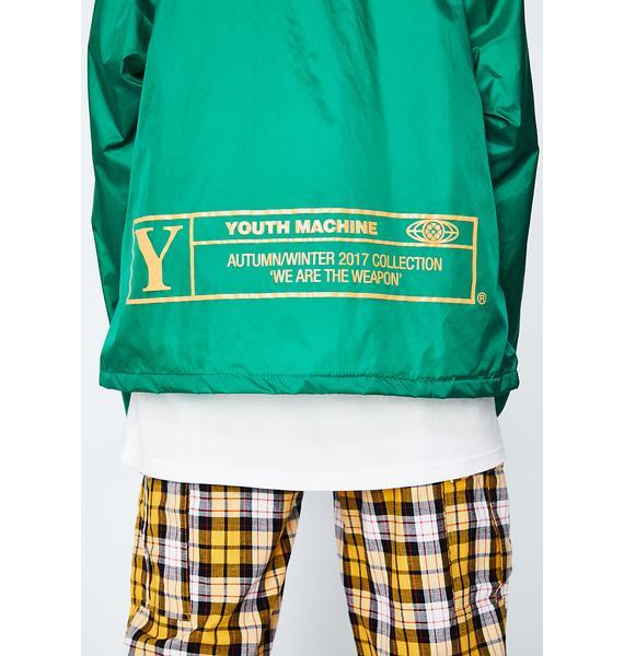 Youth Machine Cinema Coaches Jacket