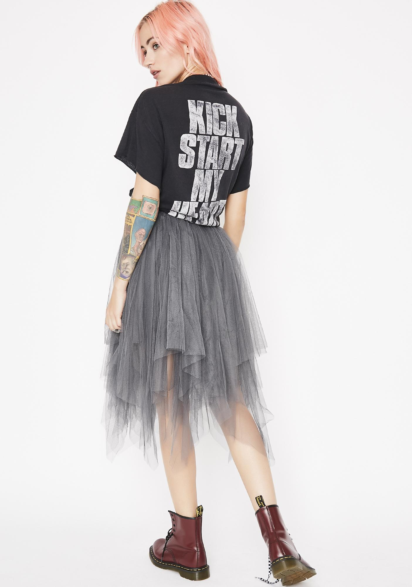 Twirlin' On Haterz Tulle Skirt