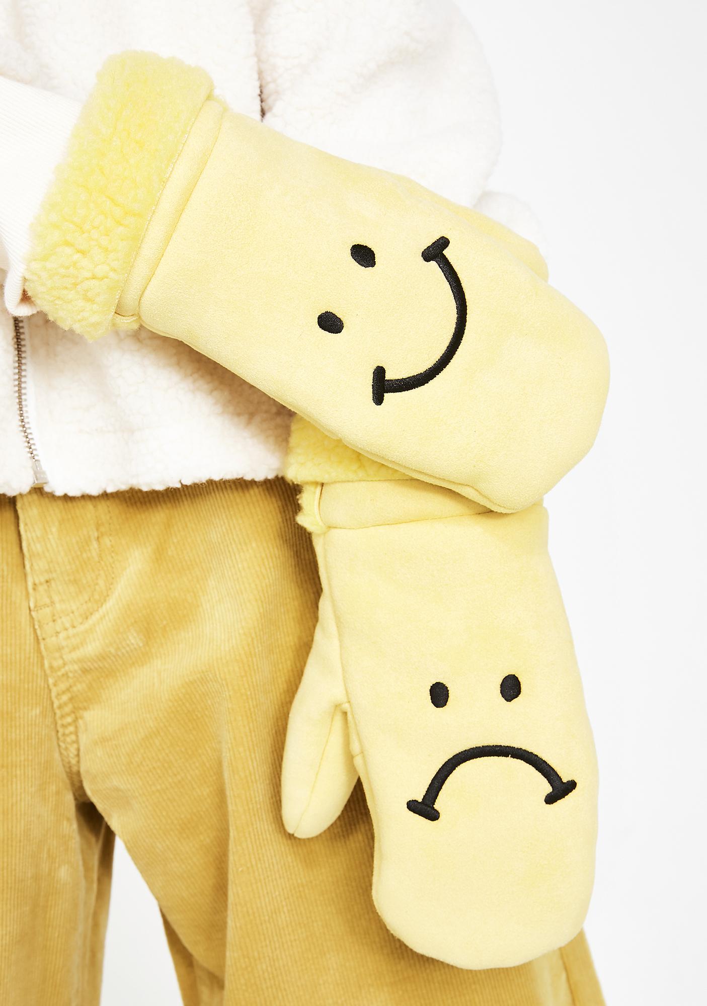 Lazy Oaf Happy Sad Mittens