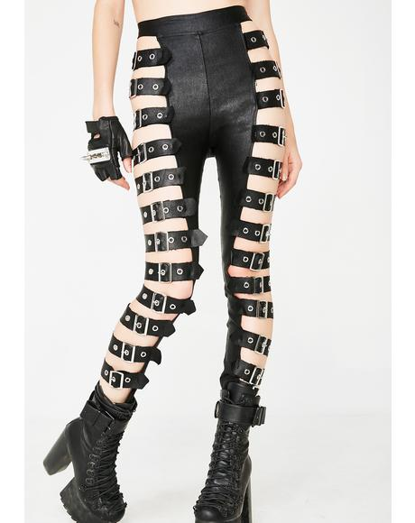 War Zone Belted Leggings