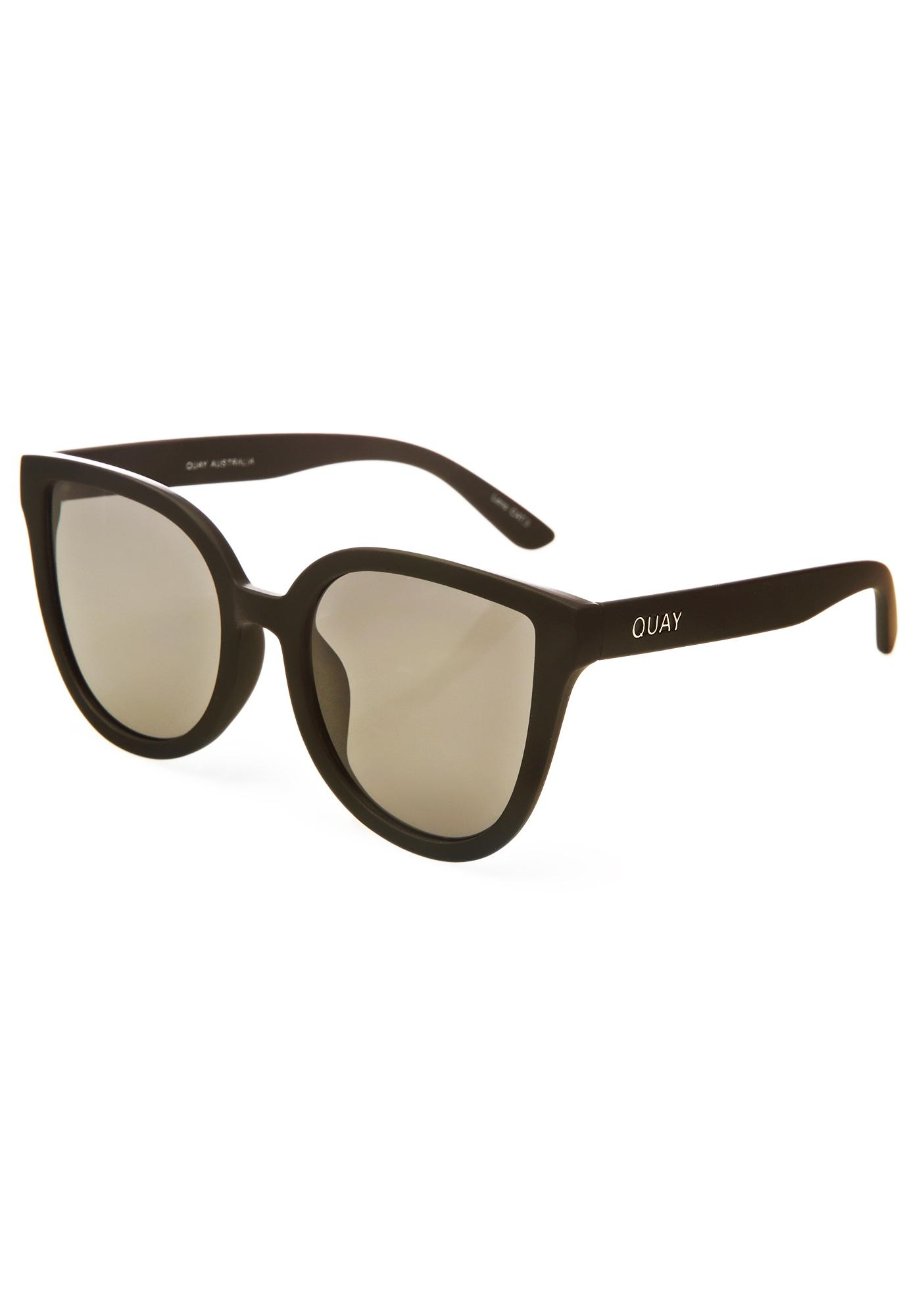Quay Eyeware Black Paradiso Sunglasses