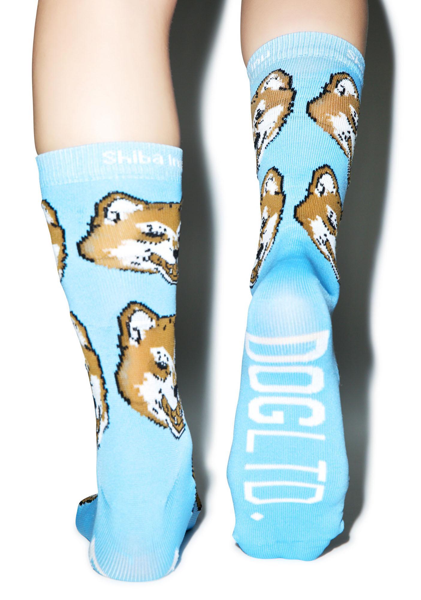 Dog LTD. Shiba Inu Socks