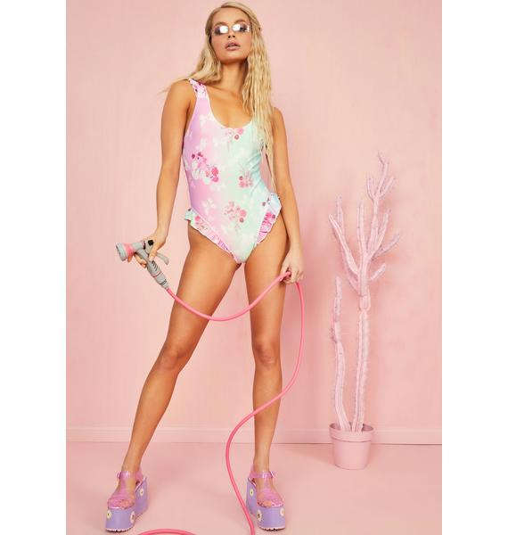 Sugar Thrillz Pixie Spritzer One Piece Swimsuit