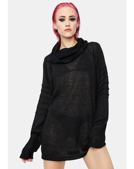 Disillusioned Cowl Neck Top