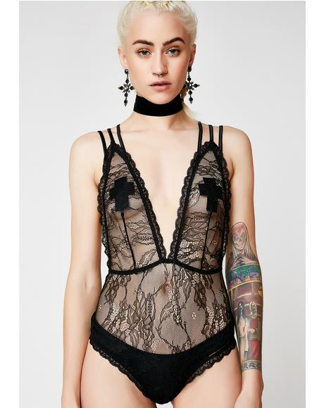 Feel The Buzz Lace Bodysuit