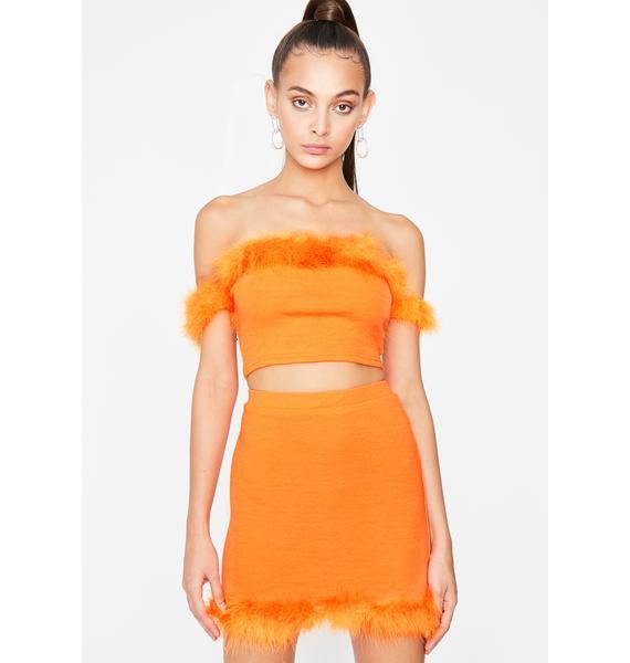 Juicy Clique Bait Skirt Set