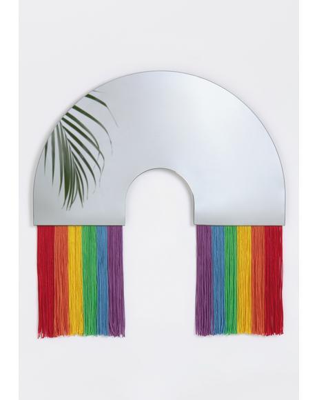 True Reflections Rainbow Mirror