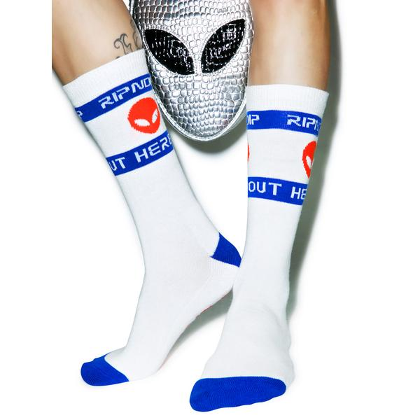 RIPNDIP Intergalactic Socks
