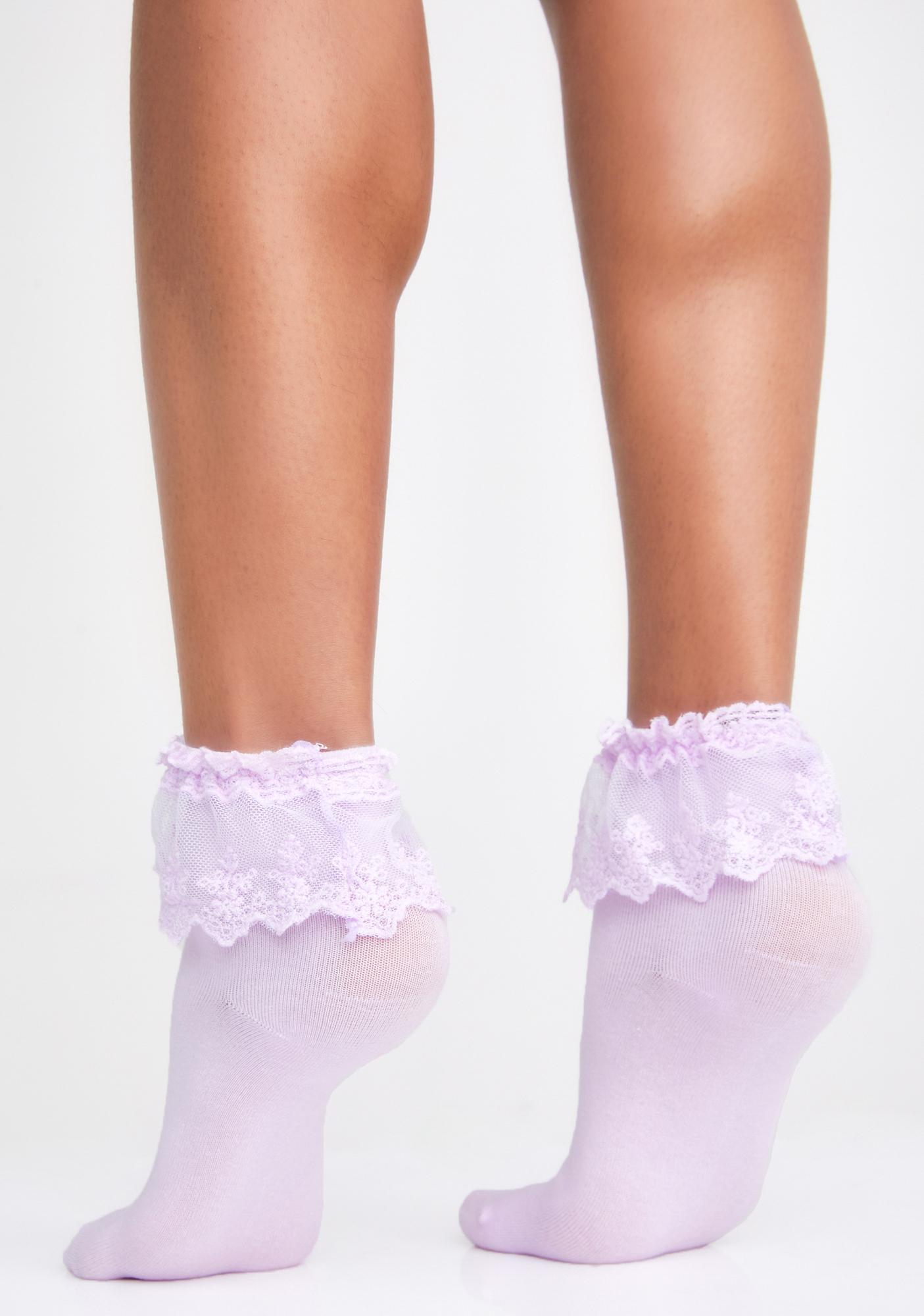 Fairy Spoiled Not Rotten Ruffle Socks