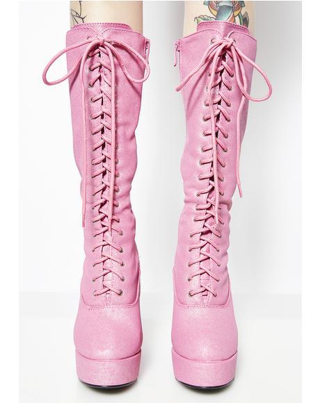 Beverly Hills Baddie Platform Boots