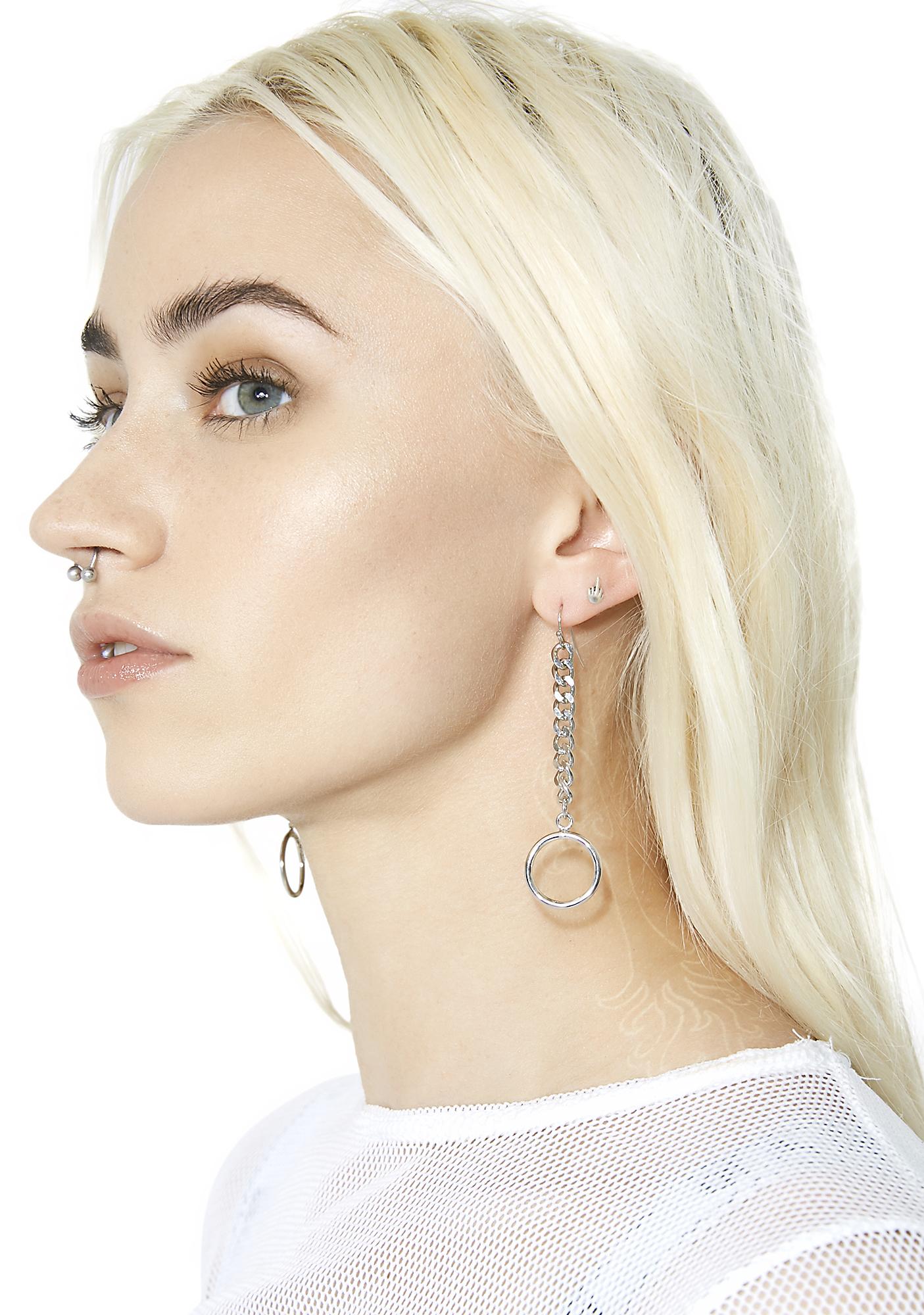 Down Low O-Ring Earrings
