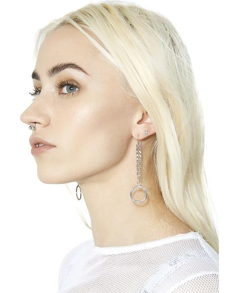 Down Low O-Ring Earrings