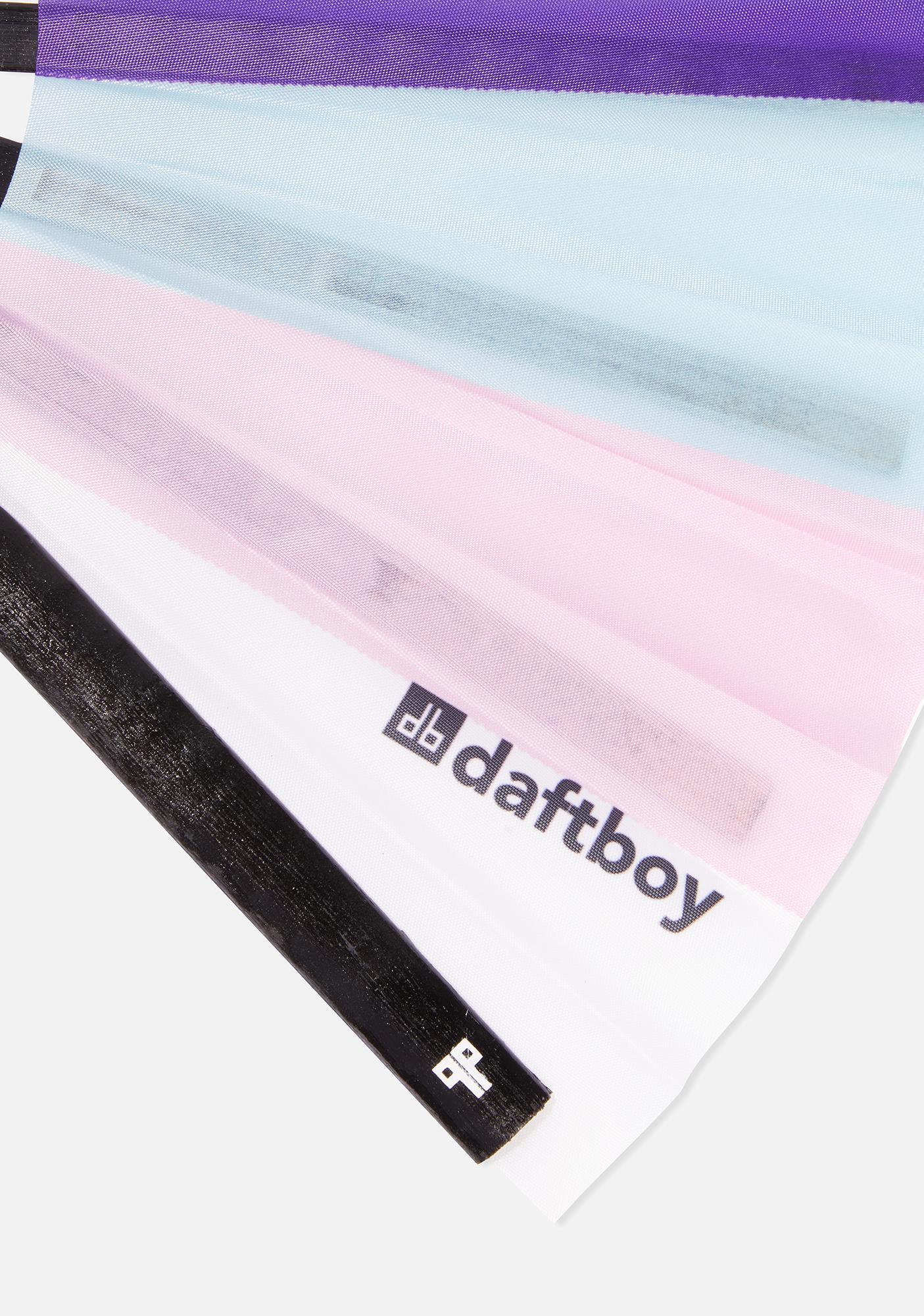 Daft Boy Pride Inclusion Fan