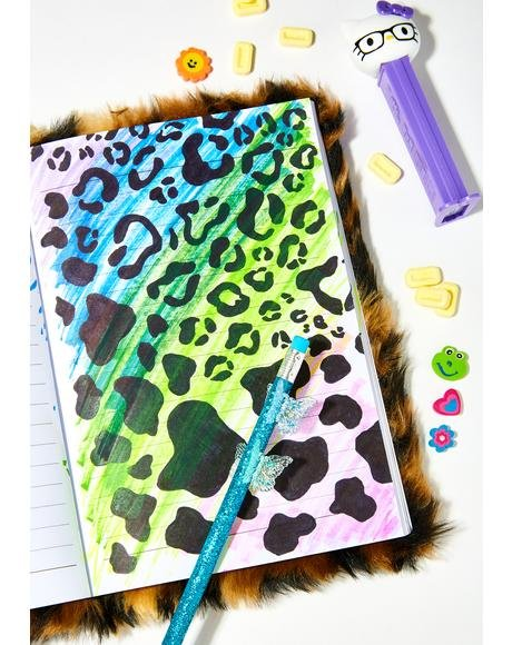 Diary Of A Hottie Furry Notebook