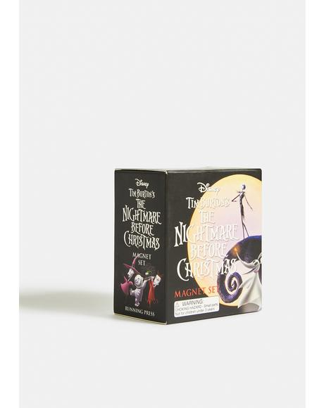 The Nightmare Before Christmas Magnet Set