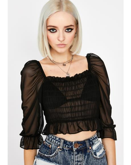 Free Your Soul Crop Top