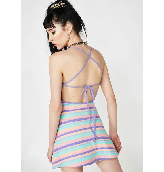 Current Mood Good Vibrationz Striped Dress