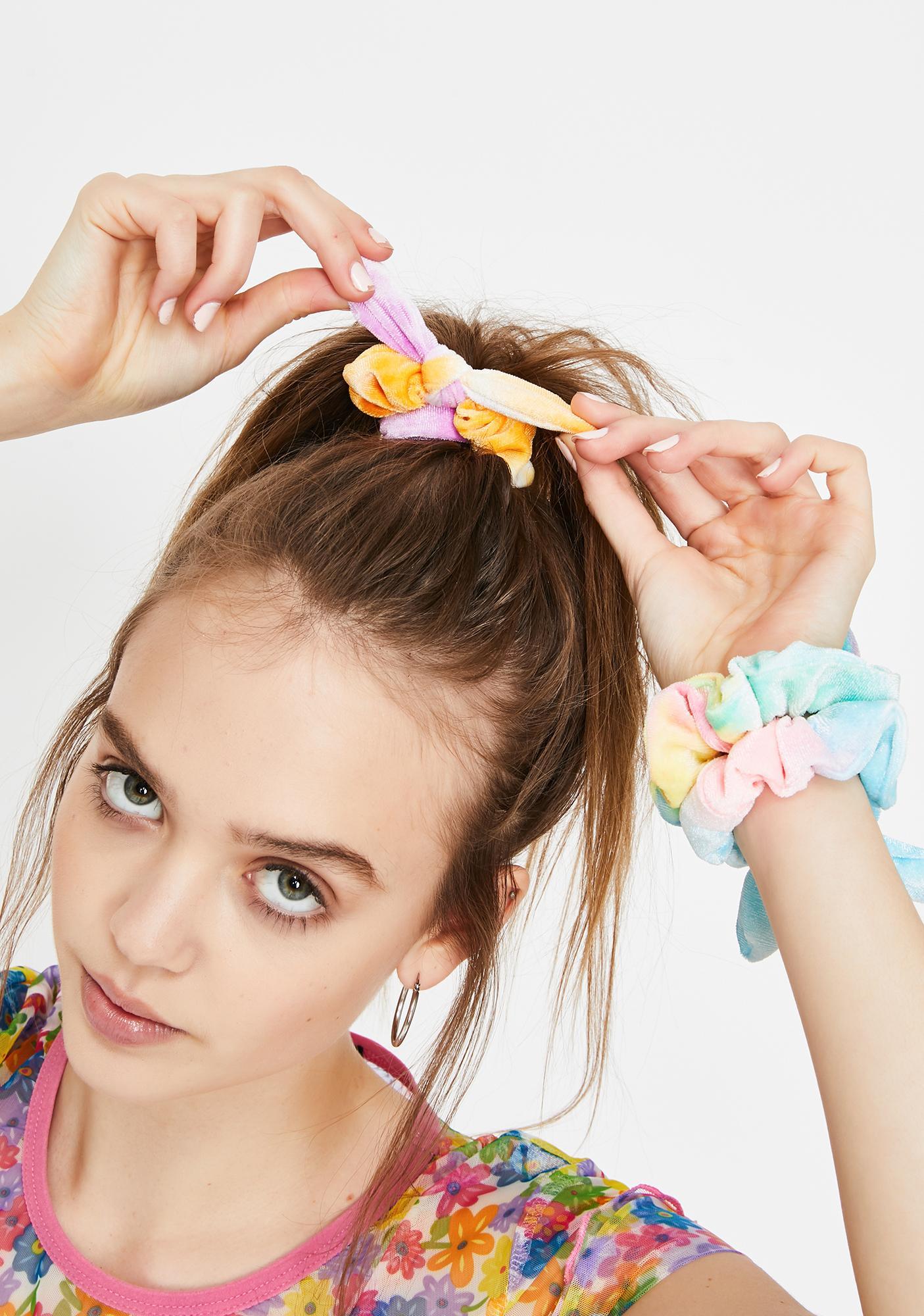 Candy Sweet Dreamz Scrunchies Set