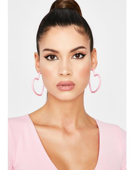 Crushin' Cutie Hoop Earrings
