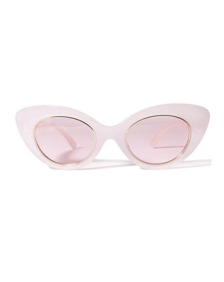 The Wild Gift Milky Sunglasses