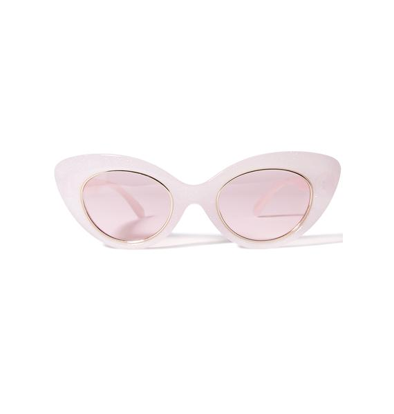 Crap Eyewear The Wild Gift Milky Sunglasses