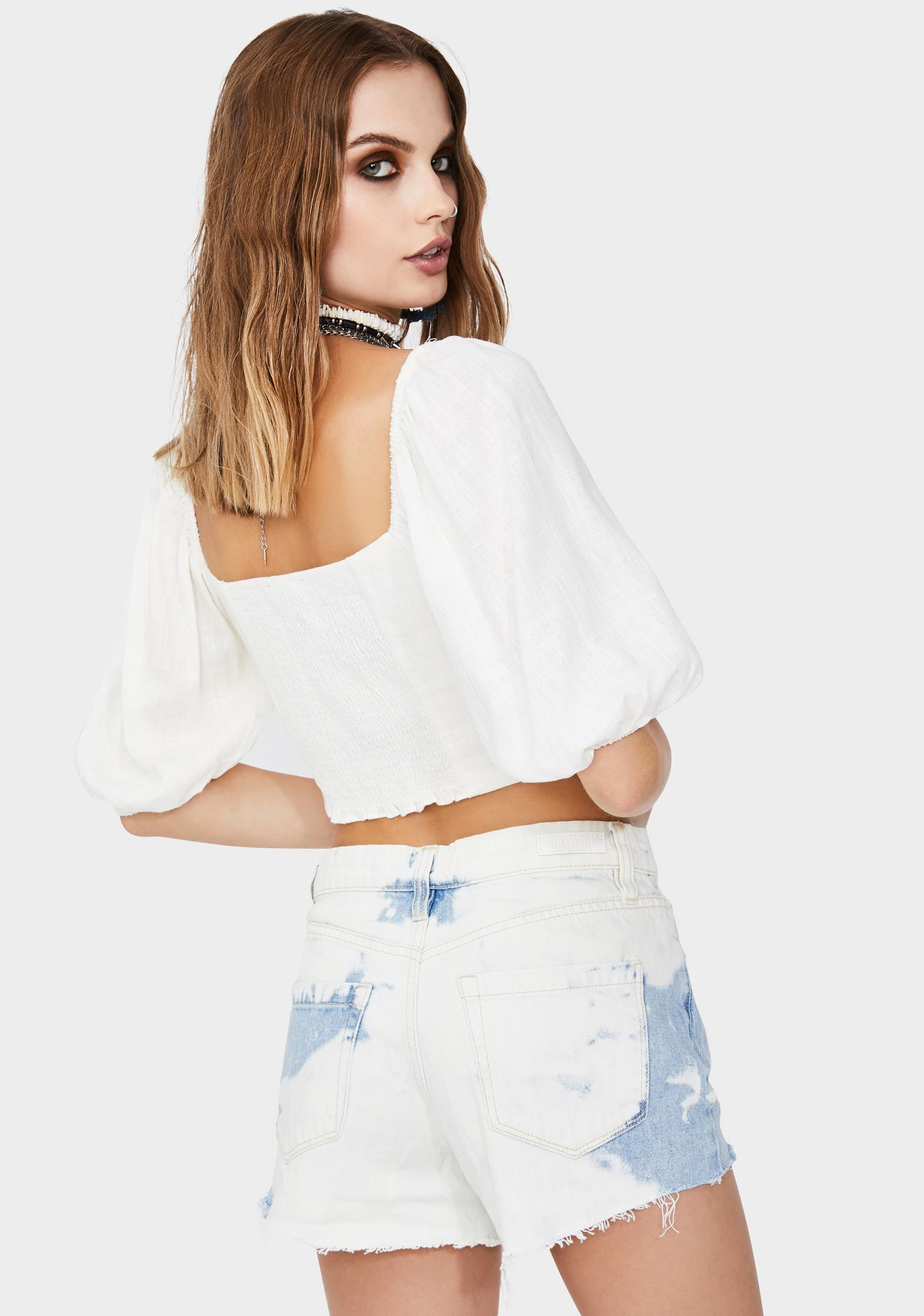 Boo Easy Does It Crop Top