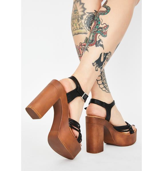 Good For Me Platform Heels