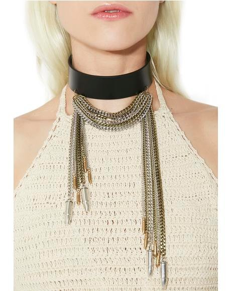 Janie's Got All Bullets Choker