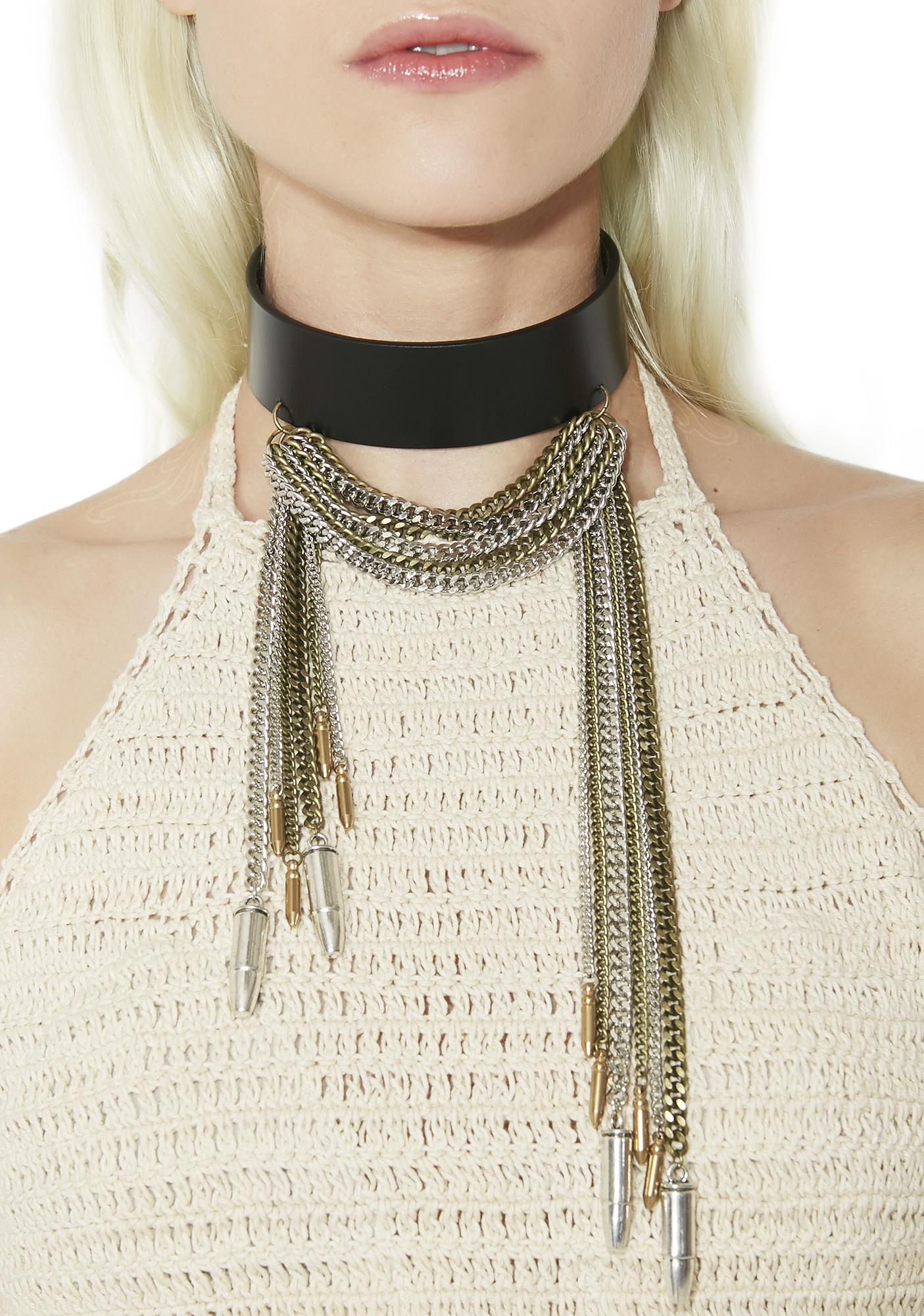 Lea Christine Janie's Got All Bullets Choker