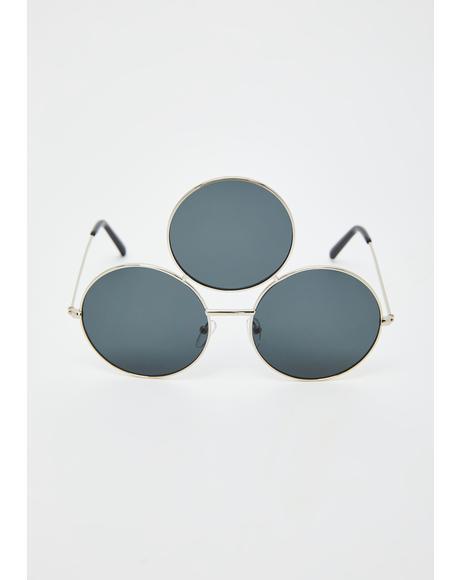 Silver Memorium Sunglasses