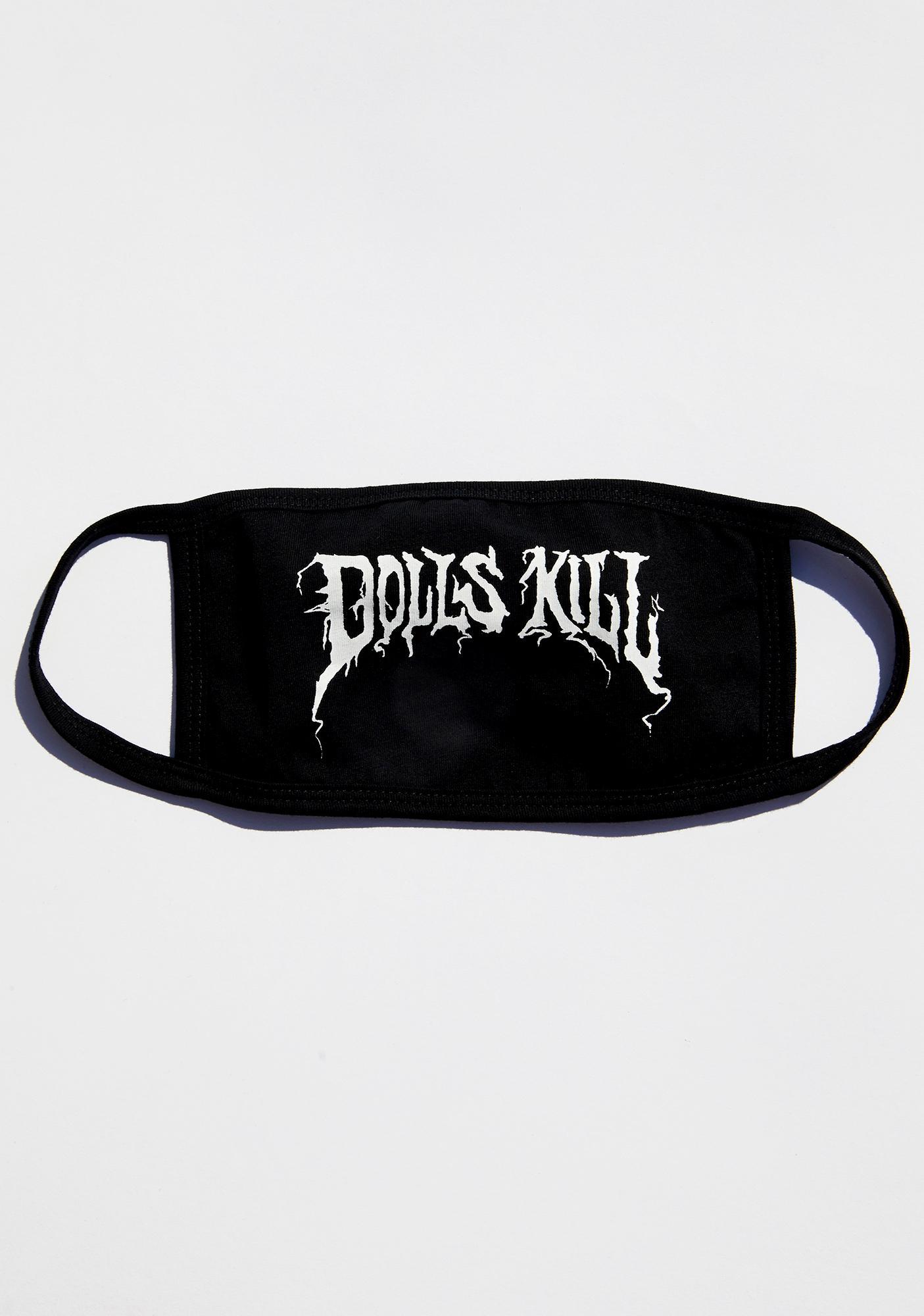 Dolls Kill Branded Face Mask