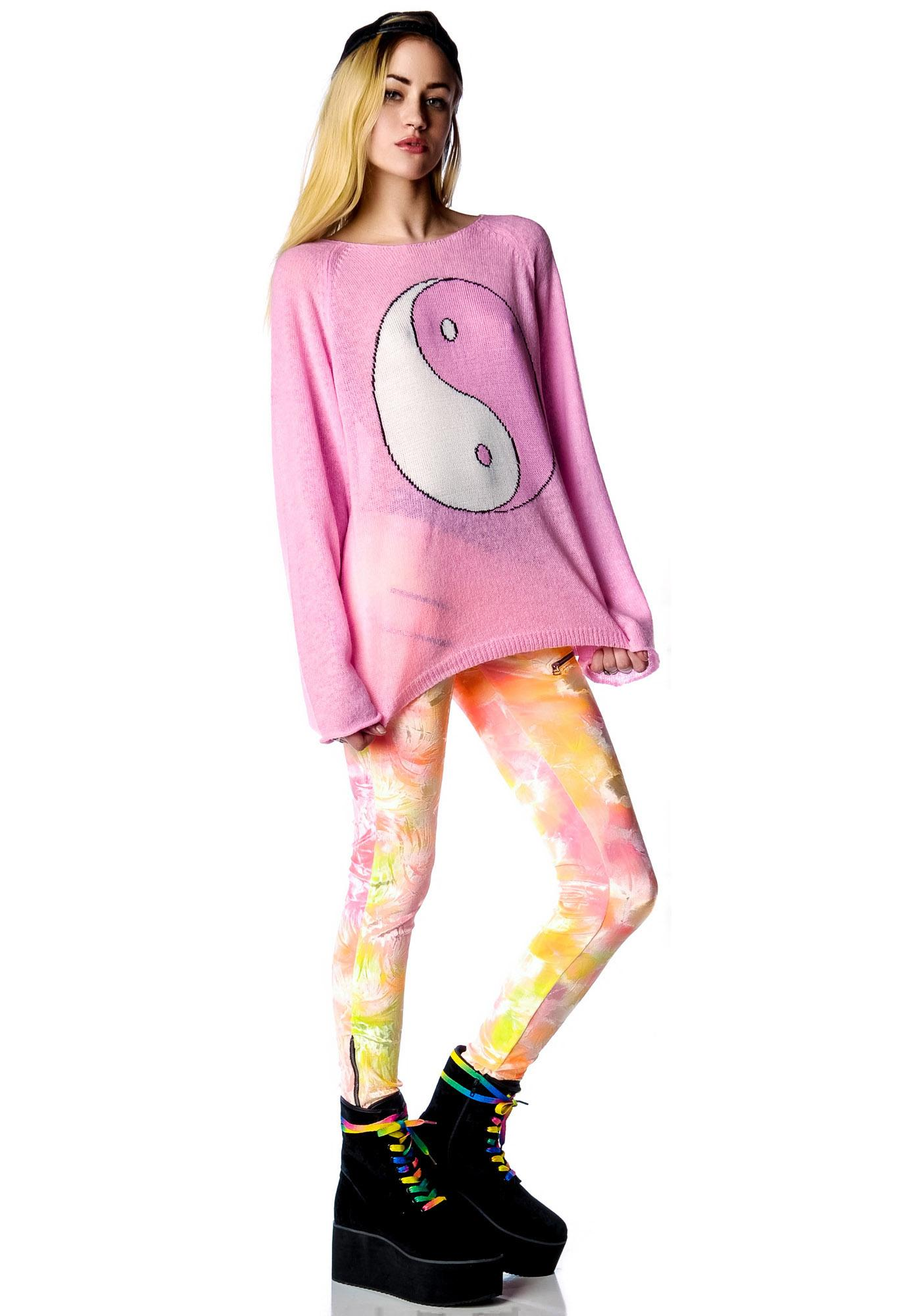 Wildfox Couture Ying Yang Penny Lane Sweater