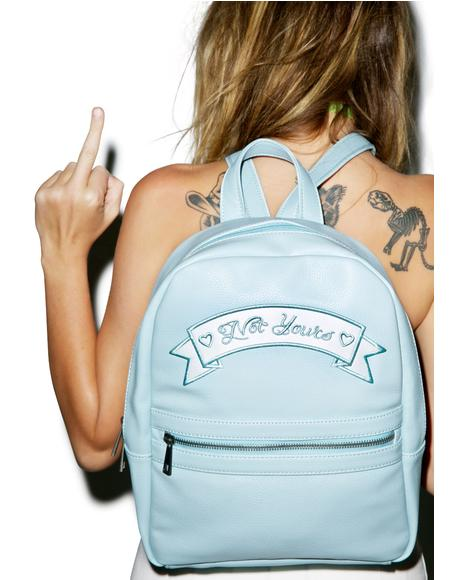 Not Yours Mini Backpack