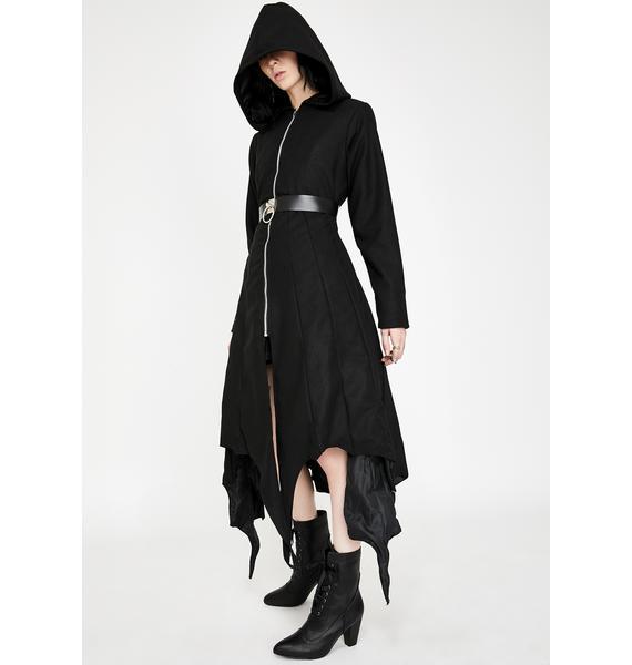 Necessary Evil Medeina Bat Wing Coat