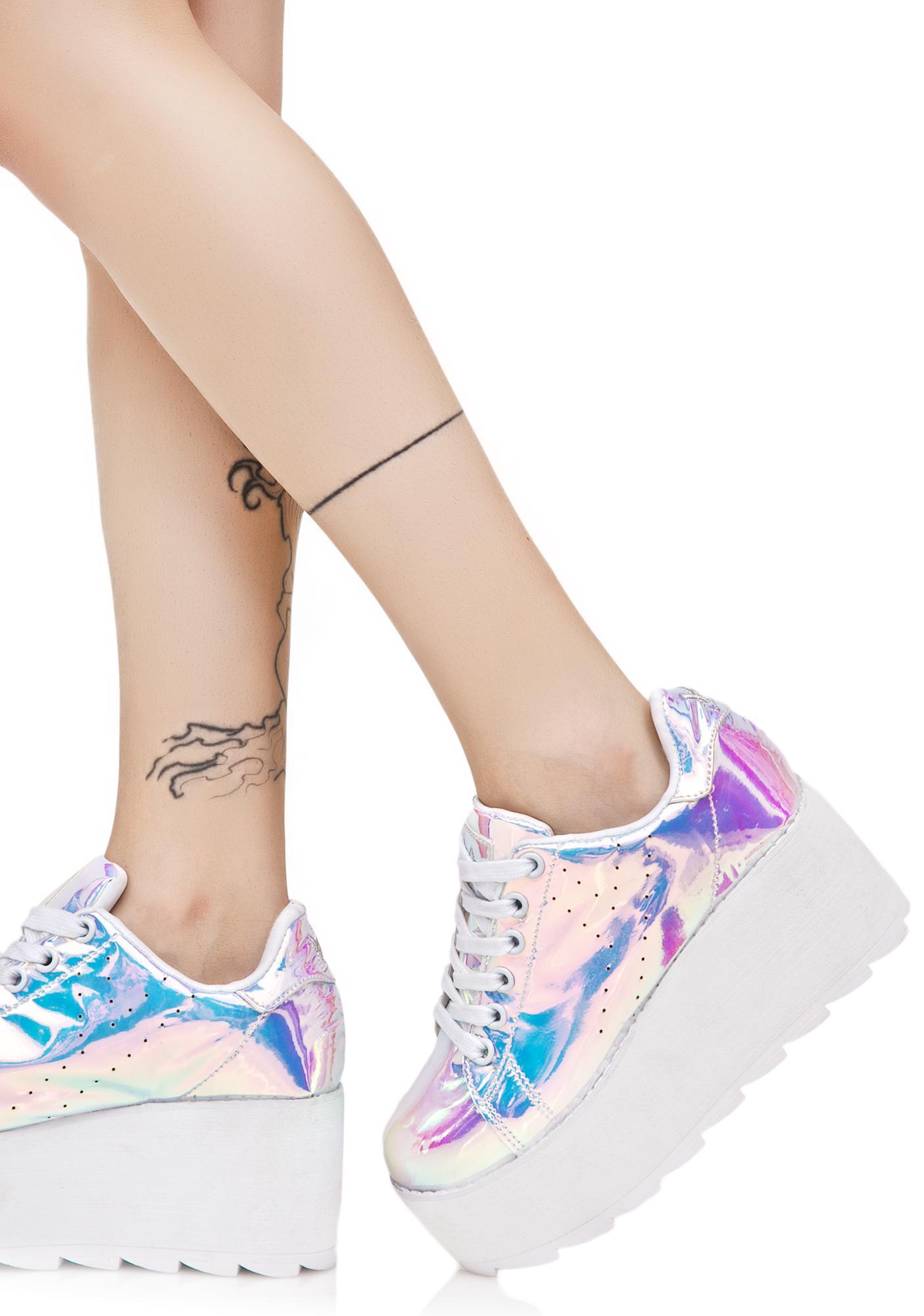 Y.R.U. Lala Atlantis Platform Sneakers