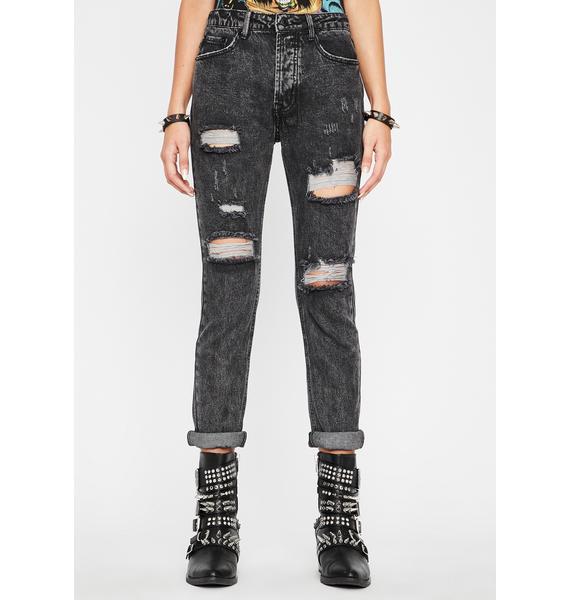 Hardcore Hooligan Distressed Jeans