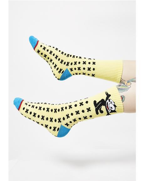 Felix Classic H Crew Socks