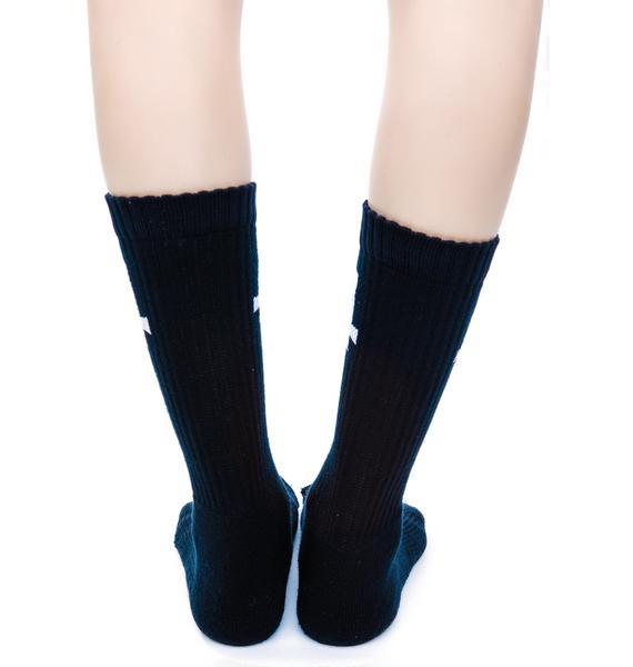 Inverted Cross Socks